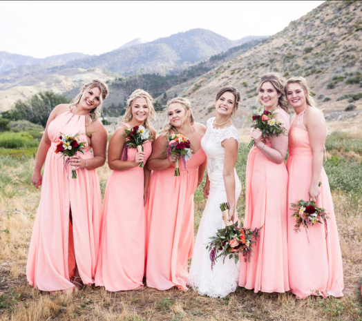 High desert wedding in Genoa, Nevada. Reno Tahoe Destination Breeze Salon Reno