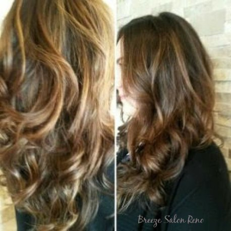 Breeze Salon Reno Balayage